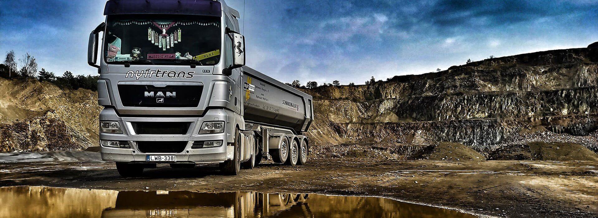 Nyírtrans kamion